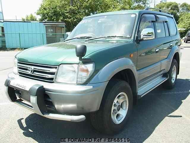 Used 1997 TOYOTA LAND CRUISER PRADO BF68519 for Sale