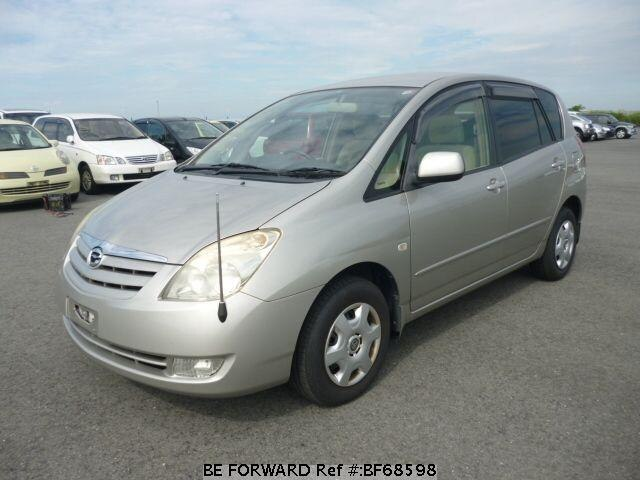 Used 2003 TOYOTA COROLLA SPACIO BF68598 for Sale