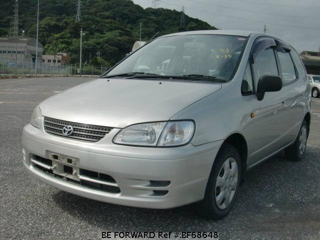 Used 2000 TOYOTA COROLLA SPACIO BF68648 for Sale