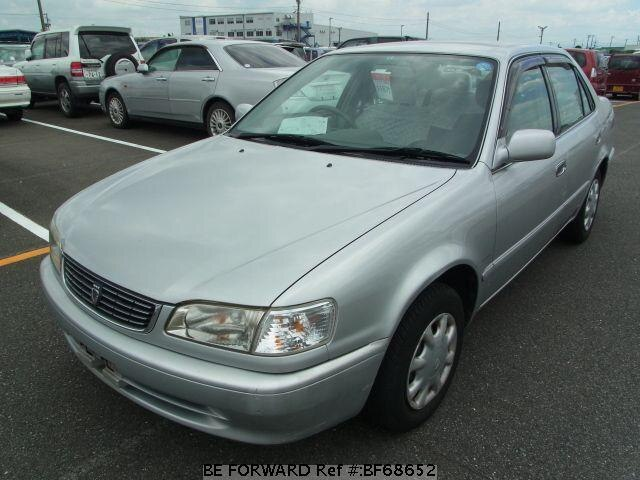 Used 1999 TOYOTA COROLLA SEDAN BF68652 for Sale