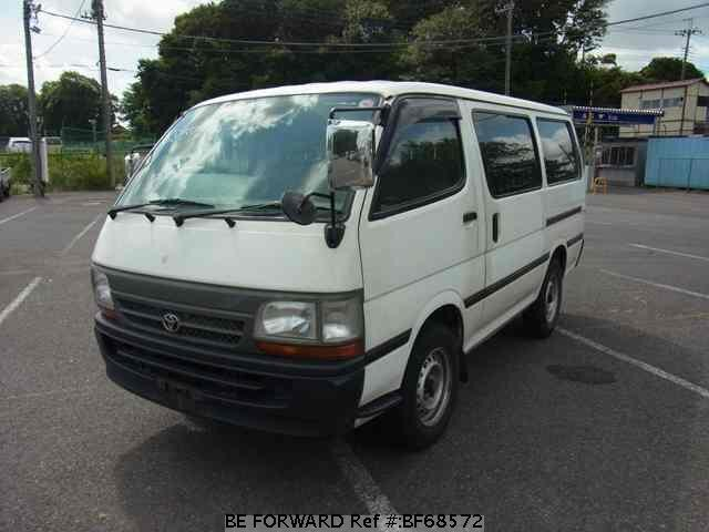 Used 2002 TOYOTA HIACE VAN BF68572 for Sale