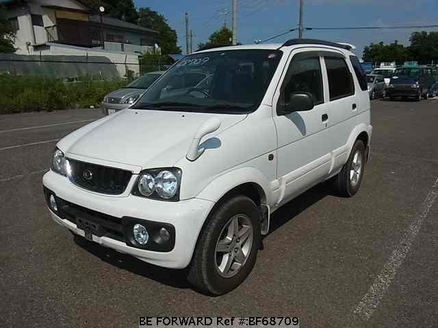 Used 2000 DAIHATSU TERIOS BF68709 for Sale