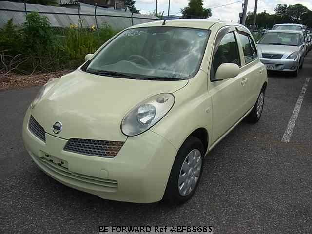 Used 2003 NISSAN MARCH BF68685 for Sale