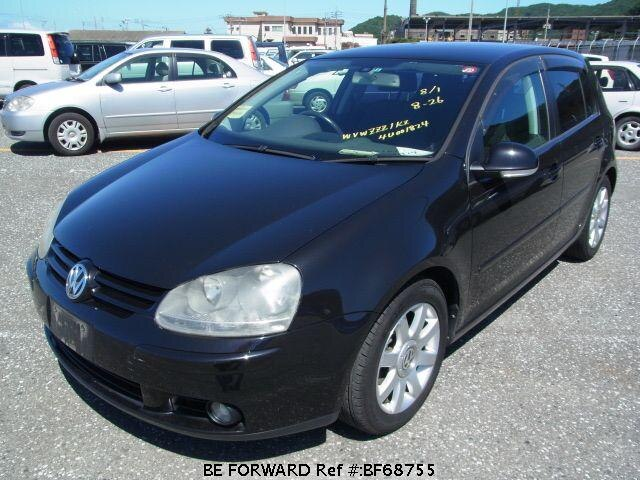 Used 2004 VOLKSWAGEN GOLF BF68755 for Sale