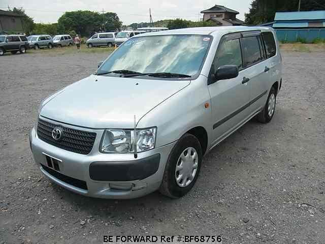 Used 2002 TOYOTA SUCCEED VAN BF68756 for Sale