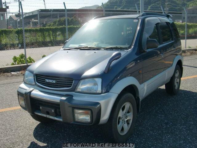 Used 1998 DAIHATSU TERIOS BF68817 for Sale