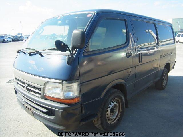 Used 2003 TOYOTA HIACE VAN BF68966 for Sale