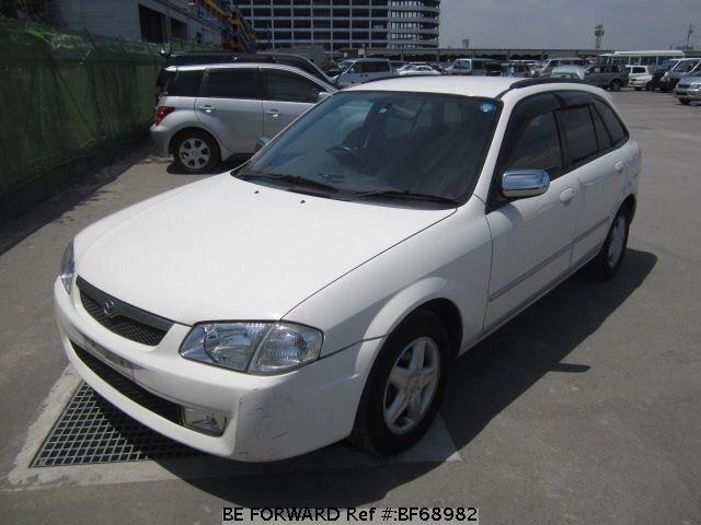Used 1999 MAZDA FAMILIA S-WAGON BF68982 for Sale