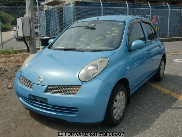 Used 2003 NISSAN MARCH BF68807 for Sale