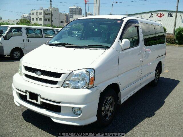 Used 2001 TOYOTA TOURING HIACE BF69172 for Sale
