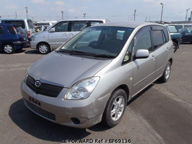 Used 2001 TOYOTA COROLLA SPACIO BF69136 for Sale
