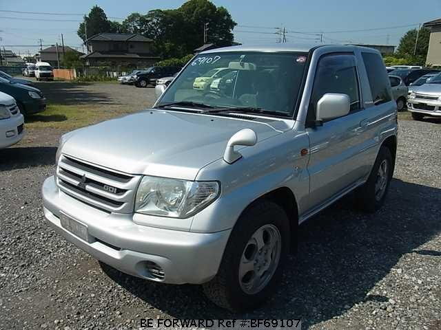 Used 2001 MITSUBISHI PAJERO IO BF69107 for Sale