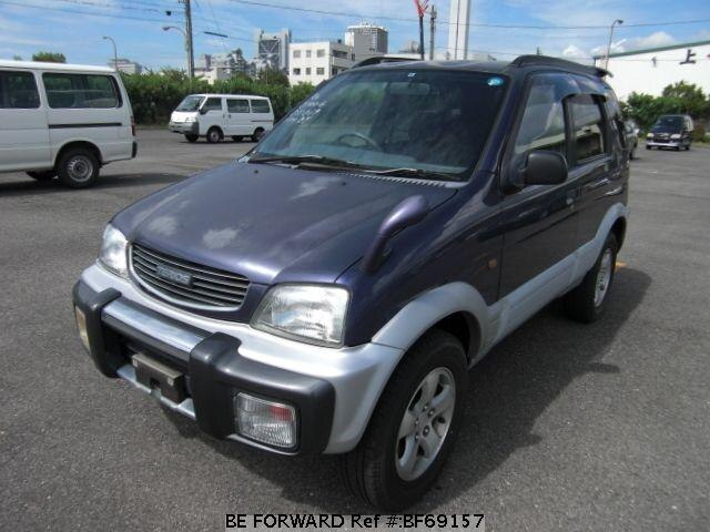 Used 1997 DAIHATSU TERIOS BF69157 for Sale