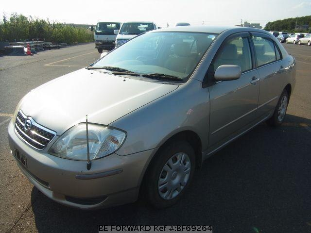 Used 2001 TOYOTA COROLLA SEDAN BF69264 for Sale