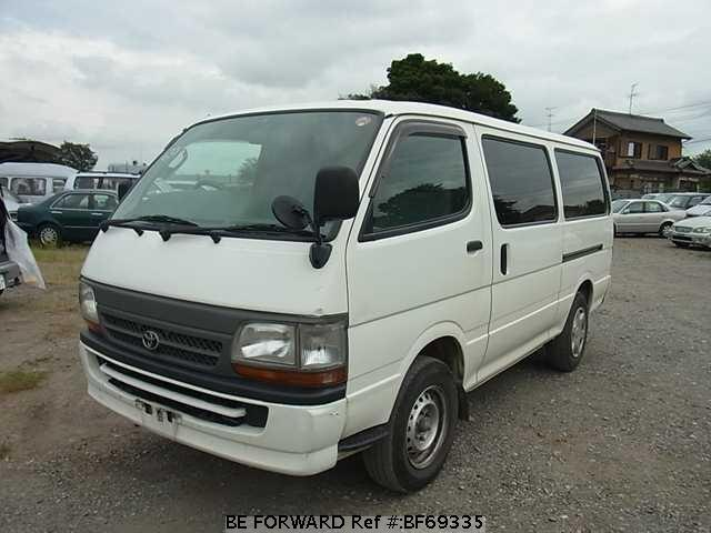 Used 2002 TOYOTA HIACE VAN BF69335 for Sale