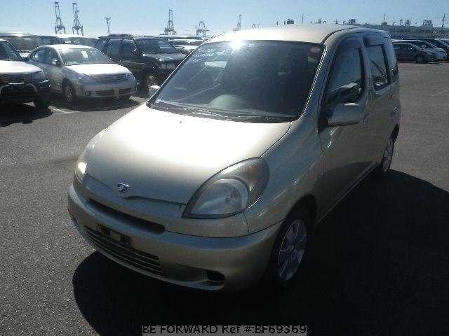 Used 2000 TOYOTA FUN CARGO BF69369 for Sale