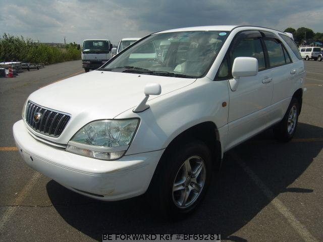 Used 2002 TOYOTA HARRIER BF69281 for Sale