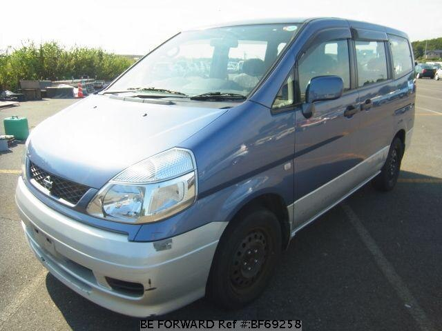 Used 2001 NISSAN SERENA BF69258 for Sale