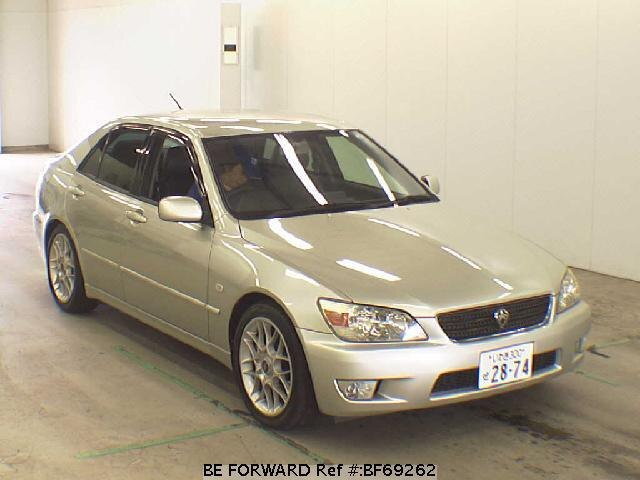 Used 2001 TOYOTA ALTEZZA BF69262 for Sale