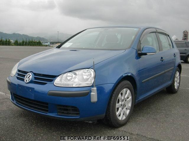 Used 2005 VOLKSWAGEN GOLF BF69551 for Sale