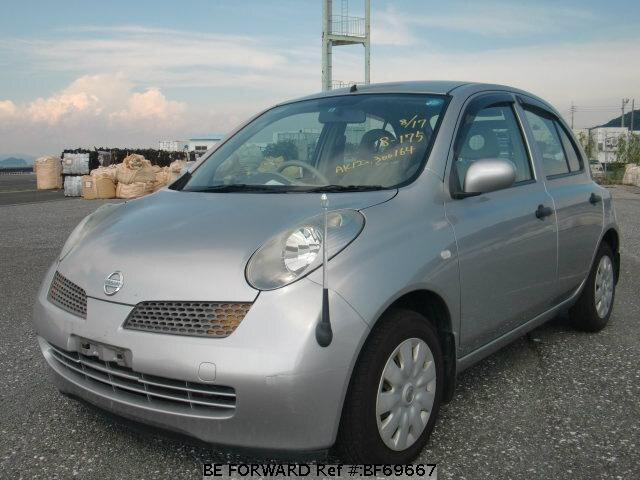 Used 2005 NISSAN MARCH BF69667 for Sale