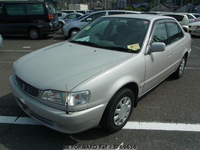 Used 1998 TOYOTA COROLLA SEDAN BF69636 for Sale