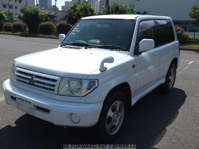 Used 1999 MITSUBISHI PAJERO IO BF69613 for Sale