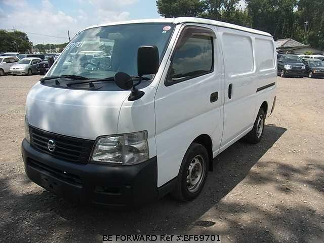 Used 2002 NISSAN CARAVAN VAN BF69701 for Sale