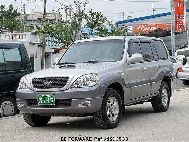 Used 2006 HYUNDAI TERRACAN IS00533 for Sale