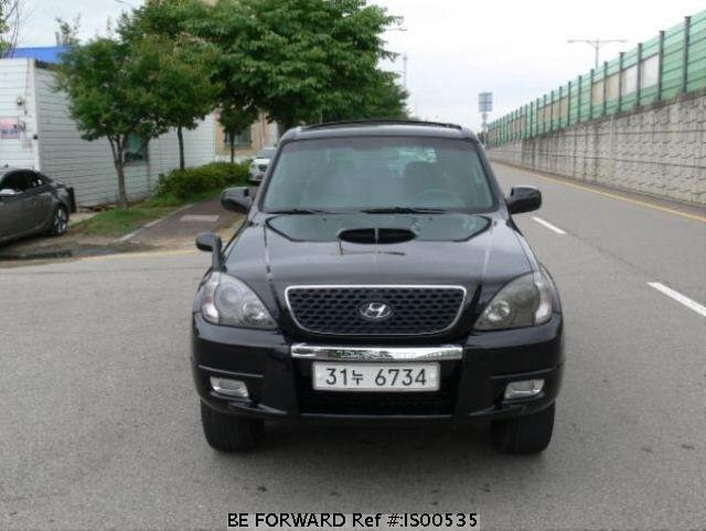 Used 2003 HYUNDAI TERRACAN IS00535 for Sale