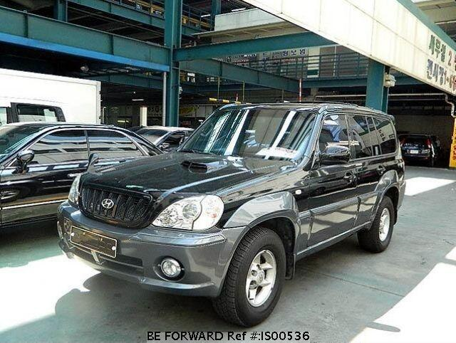 Used 2002 HYUNDAI TERRACAN IS00536 for Sale