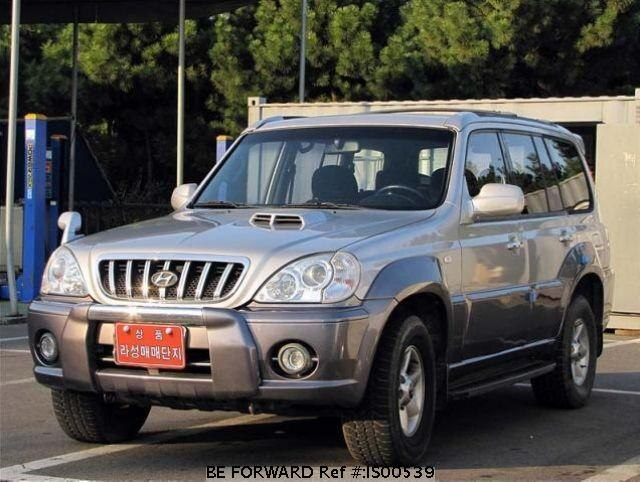 Used 2002 HYUNDAI TERRACAN IS00539 for Sale