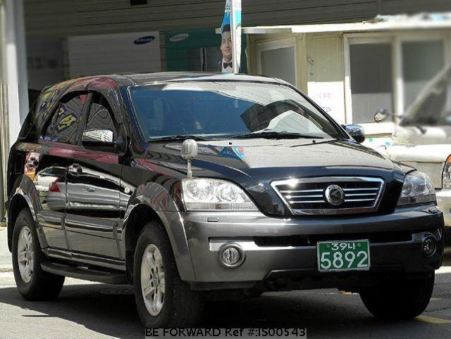 Used 2002 KIA SORENTO IS00543 for Sale
