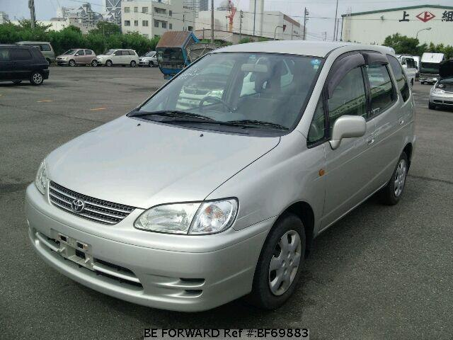 Used 1999 TOYOTA COROLLA SPACIO BF69883 for Sale