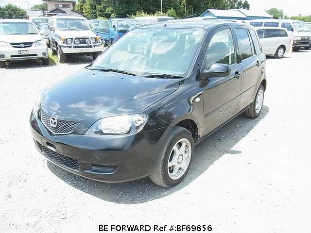 Used 2003 MAZDA DEMIO BF69856 for Sale