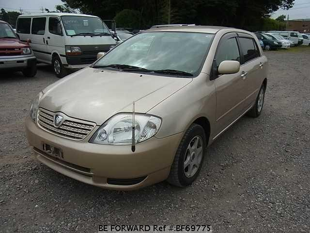 Used 2001 TOYOTA ALLEX BF69775 for Sale
