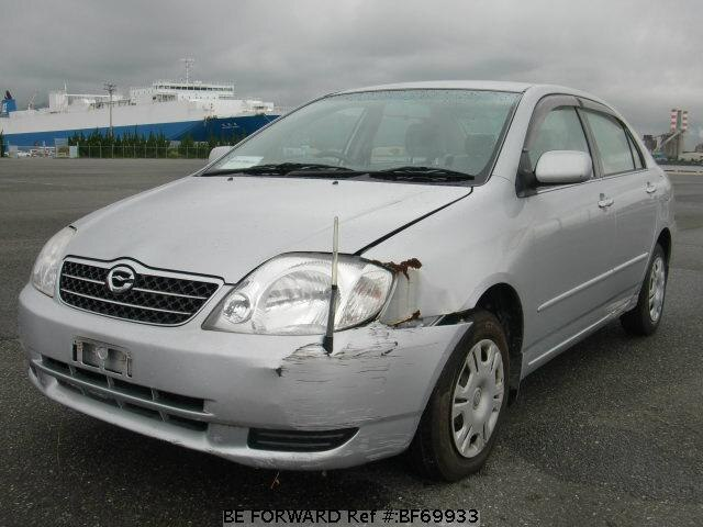 Used 2002 TOYOTA COROLLA SEDAN BF69933 for Sale