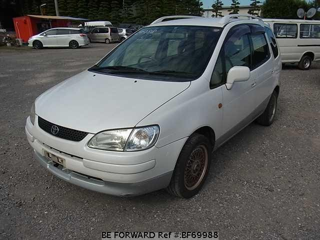 Used 1998 TOYOTA COROLLA SPACIO BF69988 for Sale