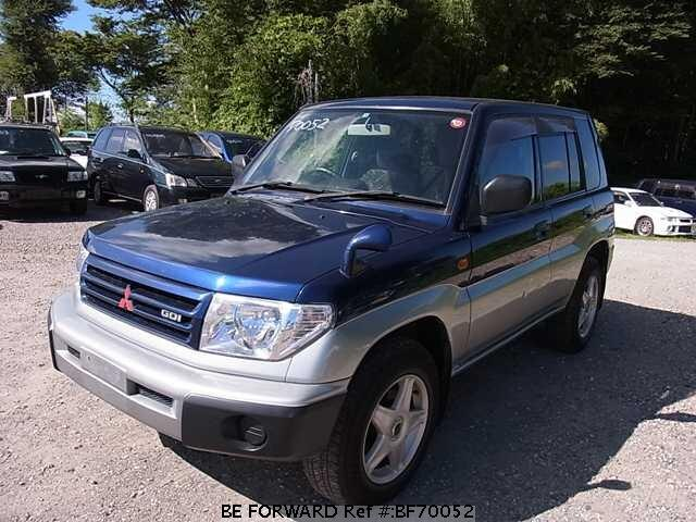 Used 1998 MITSUBISHI PAJERO IO BF70052 for Sale
