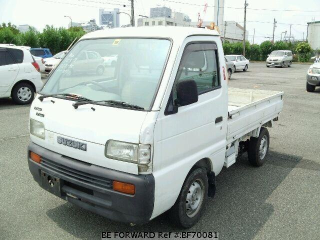 Used 1998 SUZUKI CARRY TRUCK BF70081 for Sale