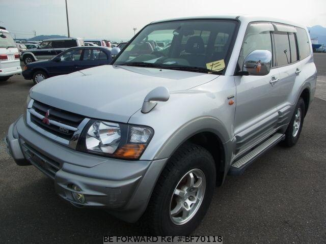 Used 1999 MITSUBISHI PAJERO BF70118 for Sale
