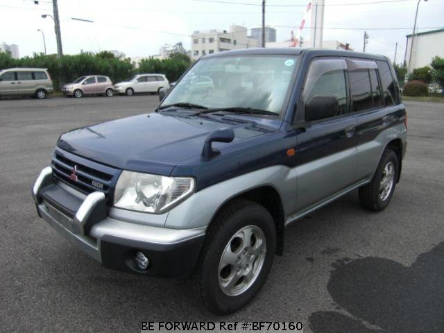 Used 1999 MITSUBISHI PAJERO IO BF70160 for Sale