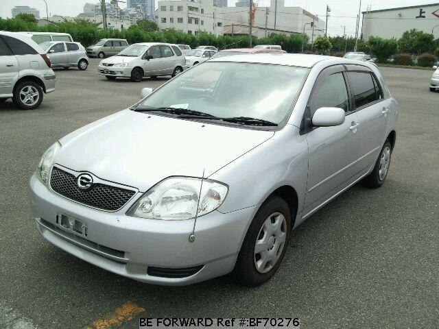 Used 2001 TOYOTA COROLLA RUNX BF70276 for Sale
