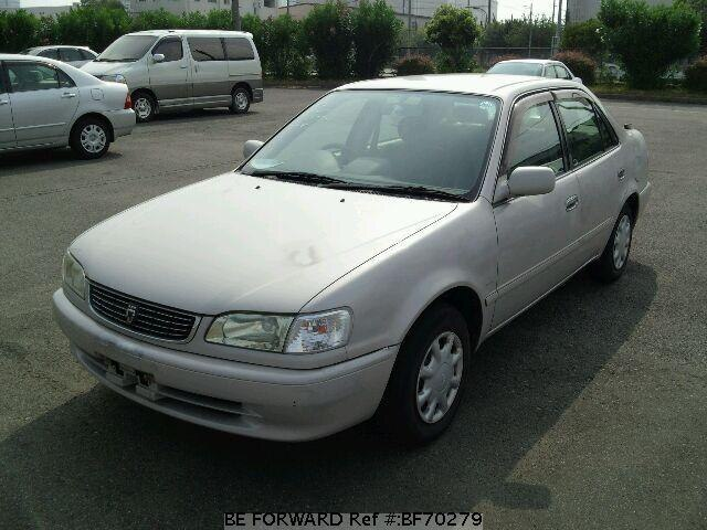 Used 1999 TOYOTA COROLLA SEDAN BF70279 for Sale