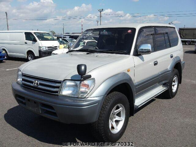 Used 1997 TOYOTA LAND CRUISER PRADO BF70332 for Sale