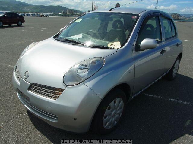 Used 2004 NISSAN MARCH BF70296 for Sale