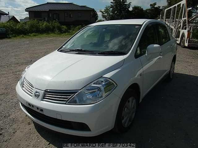 Used 2005 NISSAN TIIDA LATIO BF70342 for Sale