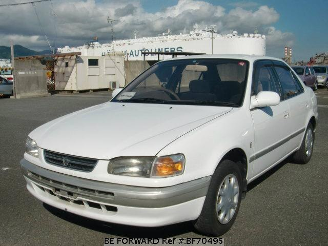 Used 1996 TOYOTA COROLLA SEDAN BF70495 for Sale