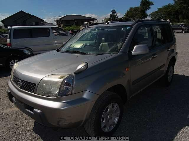 Used 2001 NISSAN X-TRAIL BF70502 for Sale