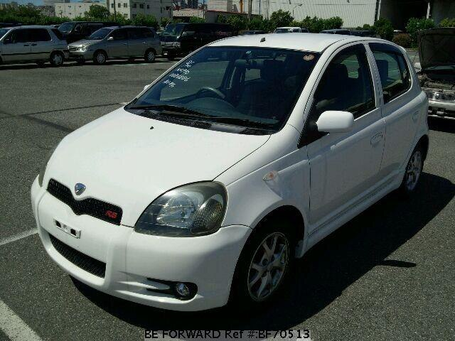 Used 2000 TOYOTA VITZ BF70513 for Sale